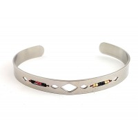 "Bangle made of stainless steel ""Valentin"""