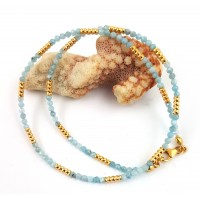 "Necklace ""Aquamarin"""