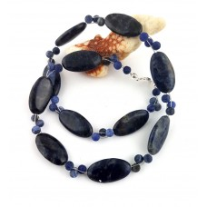 "Necklace ""Blue Intense"""