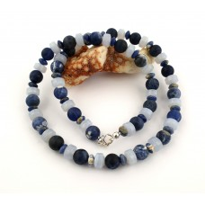 "Necklace ""Blue Intense"""