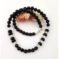 "Necklace ""Black Swan""8"