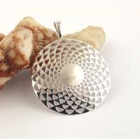 Silver Pedant -Mandala
